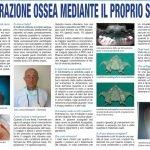 RIGENERAZIONE OSSEA MEDIANTE IL PROPRIO SANGUE