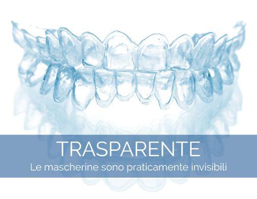 Trattamento Invisalign - Le mascherine trasparenti